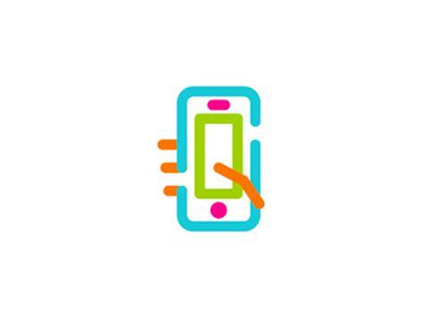 app logo design phone s letter social app logo design