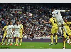 Real Madrid 11 Villarreal Cristiano Ronaldo & Co fail to