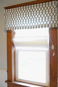 how to make a simple valance curtain howstoco With simple window valances