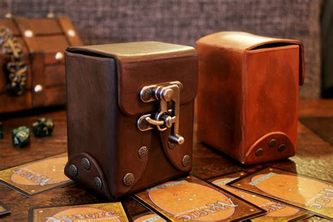 How To Make A Leather Deck Box!