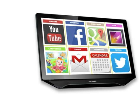 android monitor hannspree unveil their android all in one offering