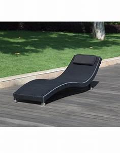 Lounge Liege Garten : rattanliege wave liegestuhl ~ Watch28wear.com Haus und Dekorationen