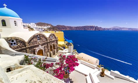 house  santorini greece  ultra hd wallpaper