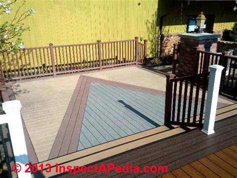 composite  synthetic deck installation