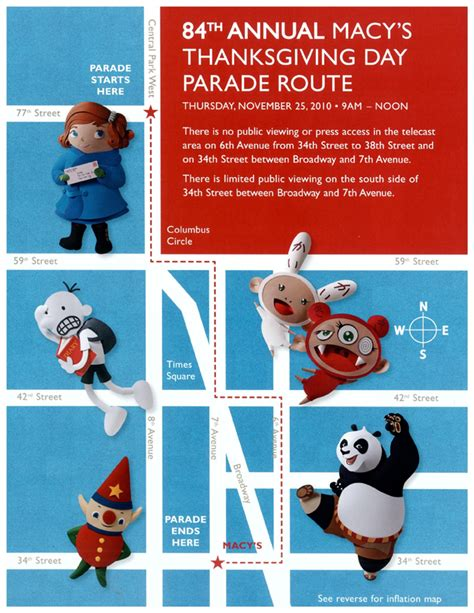 macys thanksgiving day parade poster image  behance
