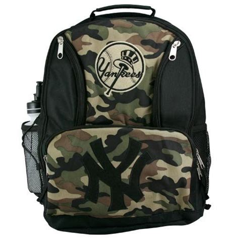 new yorker rucksack new york yankees youth camo backpack for 21 99