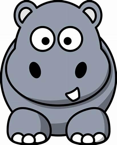 Clipart Clip Animals Animal Hippo Cartoon Funny