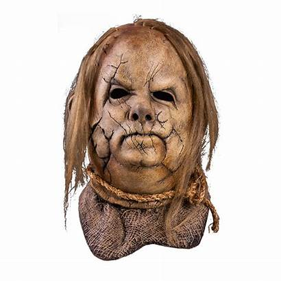 Scarecrow Mask Scary Stories Harold Dark Tell