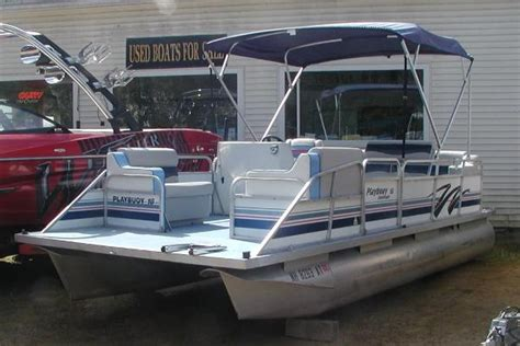Playbuoy Pontoon Boat Seats by Playbuoy Boats For Sale