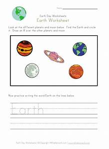 Planet Earth Worksheets (page 4) - Pics about space