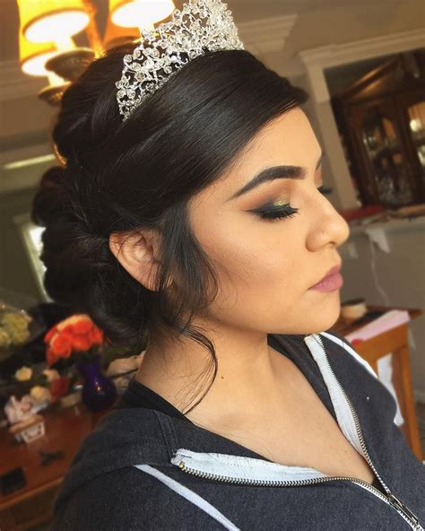 absolutely stunning quinceanera hairstyles  crown