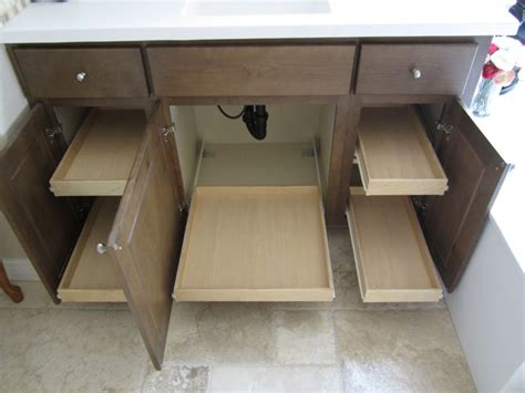 under cabinet pull out shelf pull out shelves under bathroom sink pull out shelves