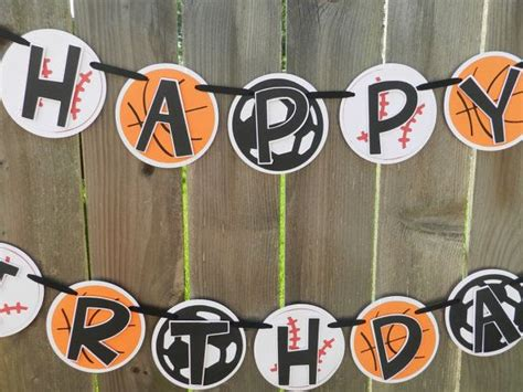 All Sports Birthday Party Banner