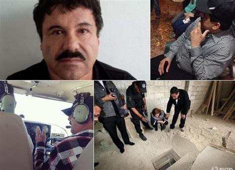 Viral Photos of 'El Chapo' Guzman Sipping Beer, Flying ...