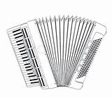 Accordion Drawing Vector Colourbox Getdrawings sketch template