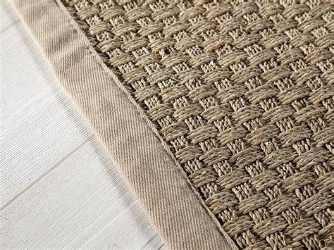 simple carrelage design tapis jonc de mer tapis jonc de mer tissage large avec ganse en with