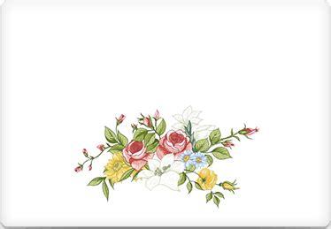 printable envelope template vintage floral