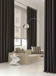 Rideaux Design Contemporain : les rideaux occultants les plus belles variantes en photos ~ Teatrodelosmanantiales.com Idées de Décoration