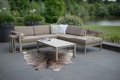loungeset hoekbank valencia loungeset hoekbank cosmo aluminium 4 seasons outdoor