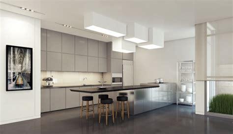 cuisine grise profitez espace moderne  idees sympas