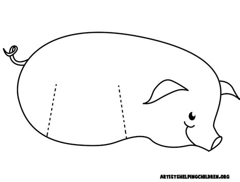 Pig Template For Preschoolers by Pig Crafts For Ideas For Arts And Crafts Projects