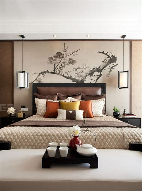 Asian Inspired Bedroom by Bedrooms Asian Inspired Bedroom And Warm Bedroom On