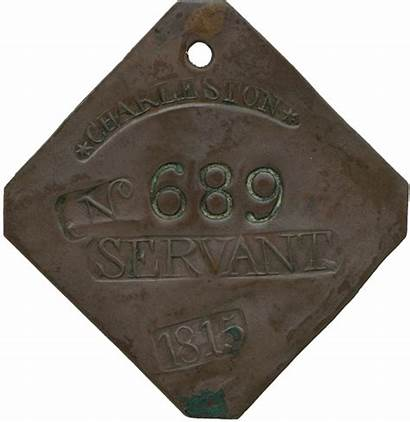 Slave African American Badge Museum History Artifacts