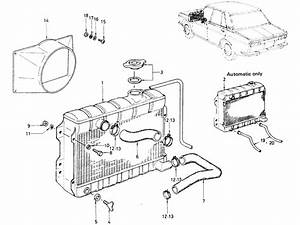 Datsun 510 Radiator