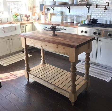 kitchen island farm table farmhouse harvest table salt creek farmhouse 5065