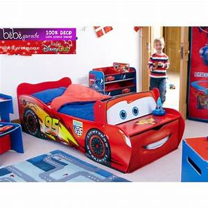 Chambre Enfant Cars : chambre enfant cars disney lit flash mcqueen lucio room kids bedroom furniture toddler ~ Dode.kayakingforconservation.com Idées de Décoration