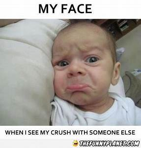 All funny pictu... Funny Baby Face Quotes