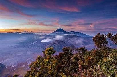 Bromo Mountain Indonesia Java Landscape Mount Volcano