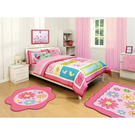 bright colored comforters bright pink green purple bird nature flower polka dot
