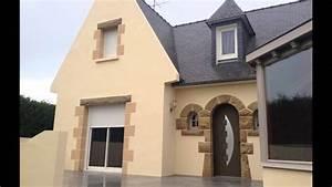 Peinture Facade Maison : ravalement de fa ade en peinture d coration hinault ~ Melissatoandfro.com Idées de Décoration