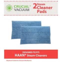 2pk crucial vacuum washable micro fiber blue steam mop pads fits haan si 25 si 40 si 60 si 70 si