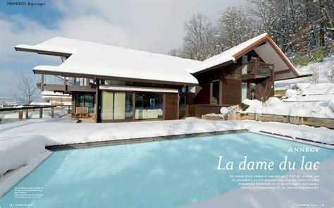 cuisine haute savoie agence clerc maison d 39 architecte contemporaine vue lac d