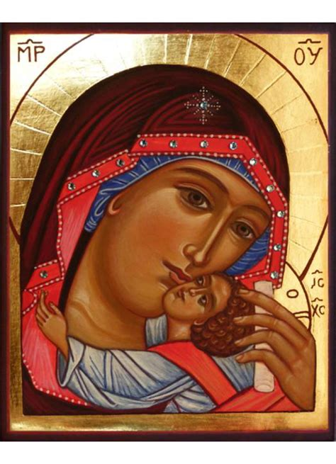 mother god mary icon icons maria dios madre traditions monastiques del theotokos collection
