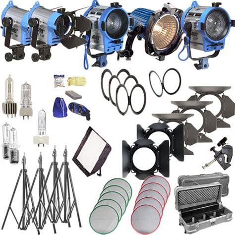 arri light kit arri softbank iv plus 5 light kit 120 vac lk 0005664 b h