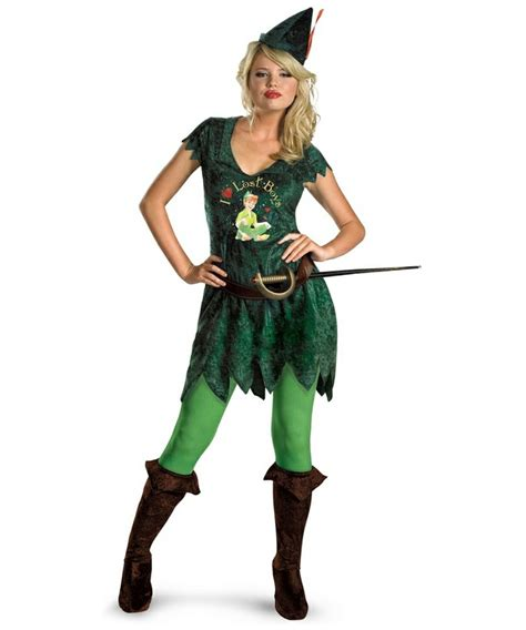 adult sassy peter pan disney costume women costumes