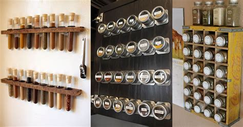 Cool Spice Rack Ideas homelysmart 11 cool rack ideas for your spices homelysmart
