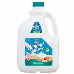 Blue Diamond Almond Breeze Original Almond Milk, 96 oz ...