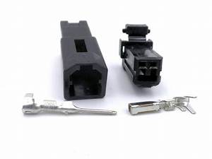 Ducati Indicator Black 2 Way Wiring Turn Signal Loom Connector