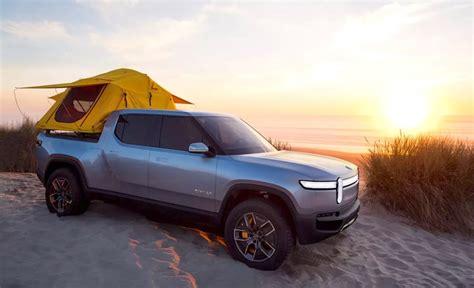 rivian rt  electric pickup  adventure ready