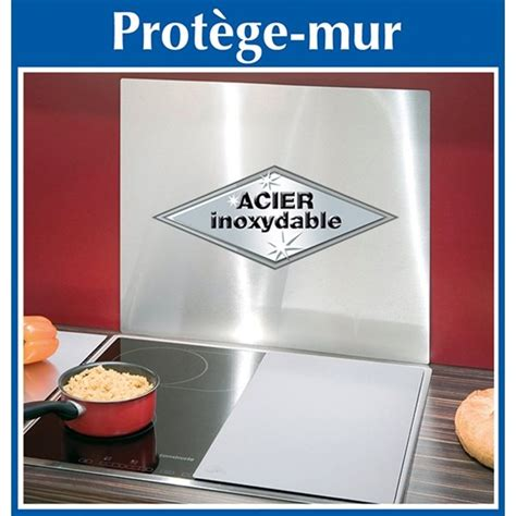 protege mur cuisine plaque protection murale inox wenko protection plaques