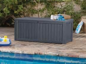 keter rockwood deck box grey keter rockwood storage box anthracite 248 00 landera