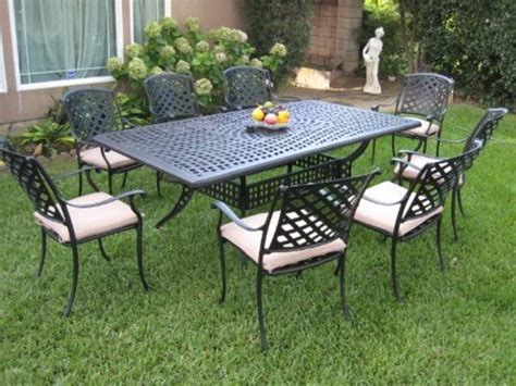 Outdoor Dining Sale by Best Cast Aluminum Outdoor Patio Dining Sets For 8 On Sale