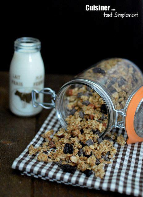 cuisiner d avoine 1000 idées sur le thème granola sur petit