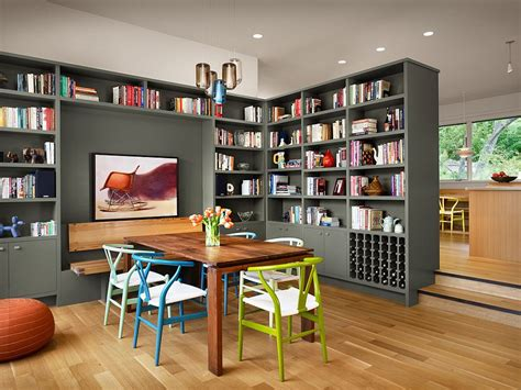 Kitchen Table And Island Combinations - 25 dining rooms and library combinations ideas inspirations