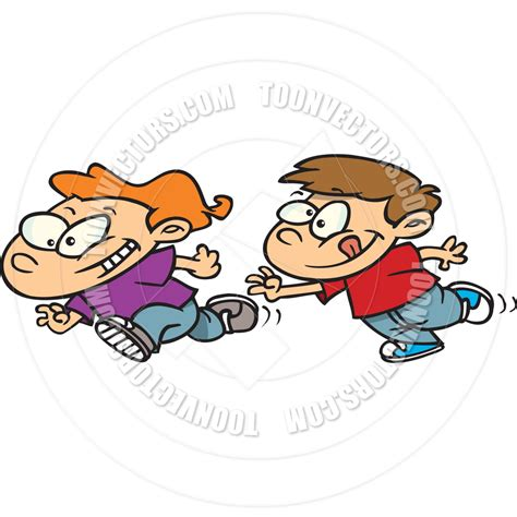 playing cartoon playing tag clipart clipart suggest