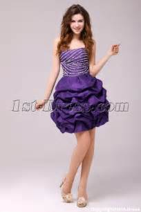 formal dress for wedding plus size fancy purple cocktail dress 1st dress